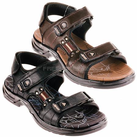 161 edle herren jungen trekking sandalen schuhe neu ebay. Black Bedroom Furniture Sets. Home Design Ideas
